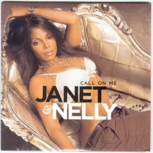 JANET JACKSON - & Nelly CALL ON ME 2 MIXES CDS - CD single