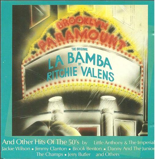 Various Artists The Original La Bamba & Other Hits Of The 50's CD