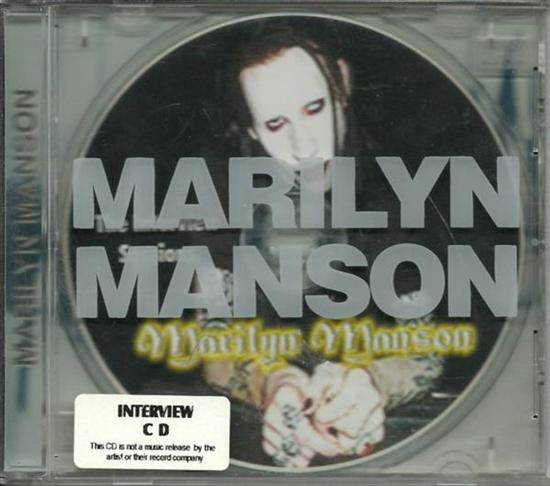 Marilyn Manson The interview sessions CD