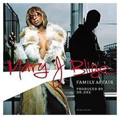MARY J BLIGE - Family Affair CDS - CD single