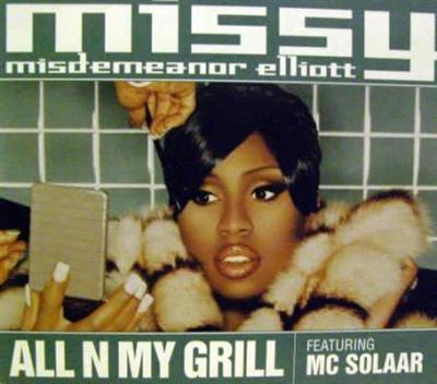 MISSY MISDEMEANOR ELLIOTT - All N My Grill (Cd Single) CDS - CD single