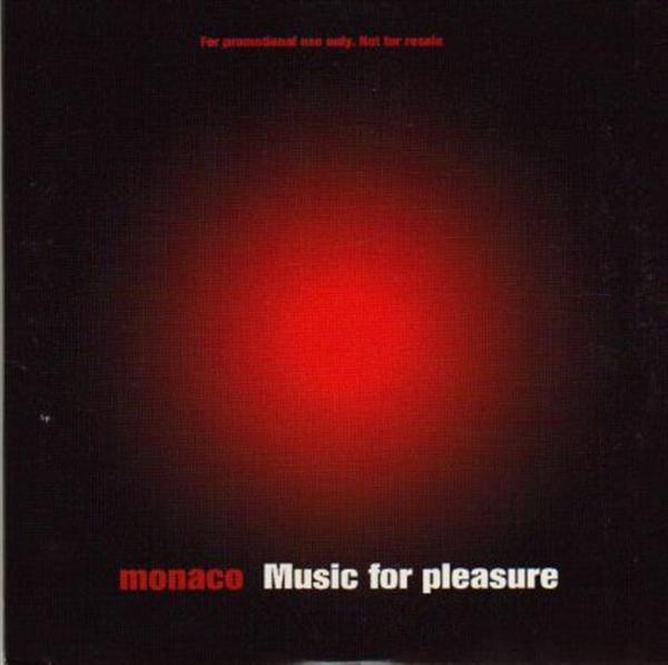 Monaco Music For Pleasure PROMO CD