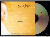 NORAH JONES - SUNRISE promo cd-s - CD single