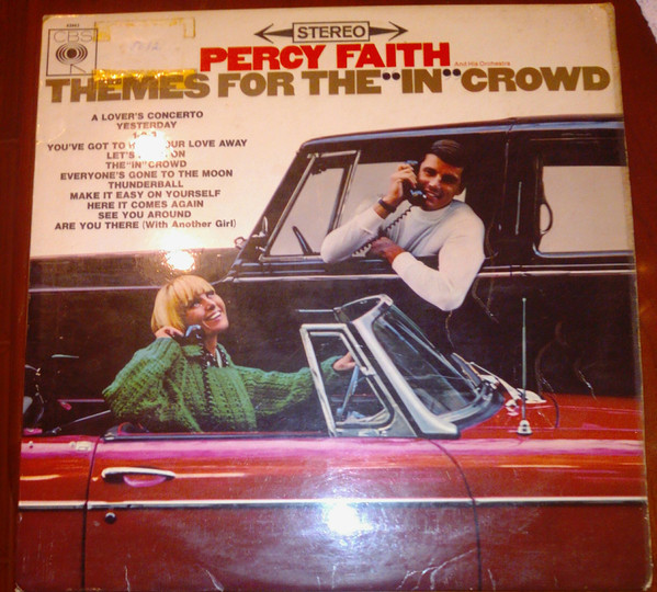Percy Faith & His Orchestra Themes For The In Crowd LP