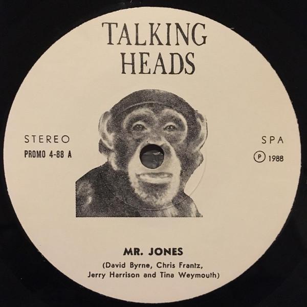 TALKING HEADS - Mr. Jones 7'' - 45T x 1