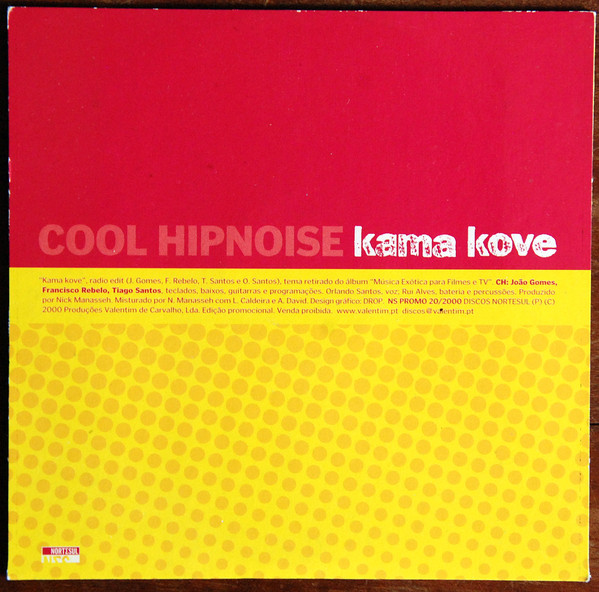 COOL HIPNOISE - Kama Love CD - CD