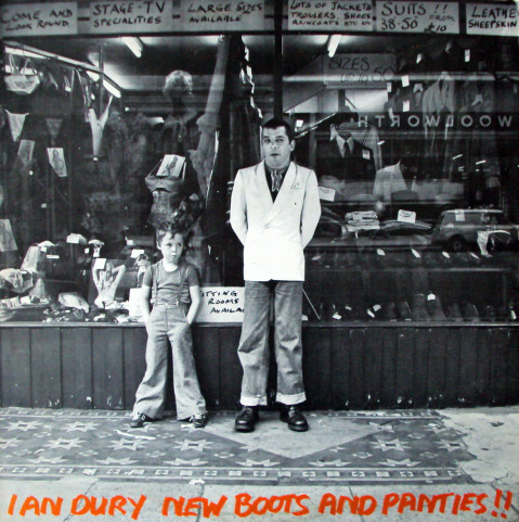 Ian Dury - New Boots And Panties!! LP - 33T