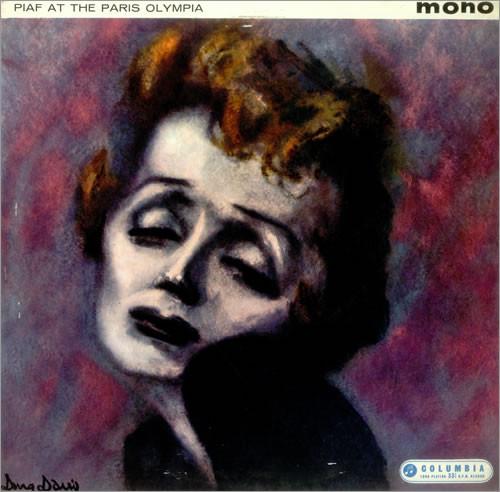 Edith Piaf Piaf At The Paris Olympia LP