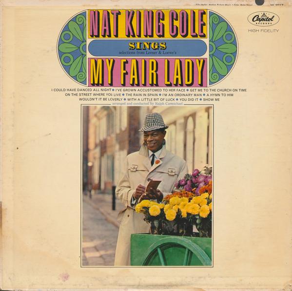 Nat King Cole Sings My Fair Lady LP