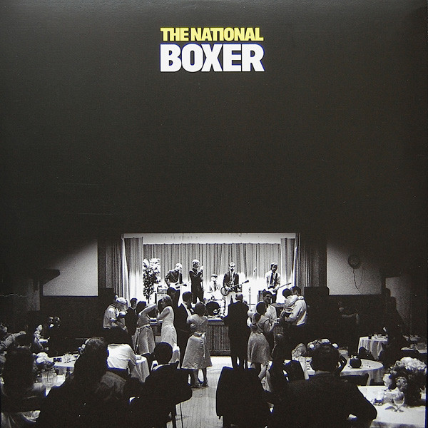 THE NATIONAL - Boxer LP - 33T