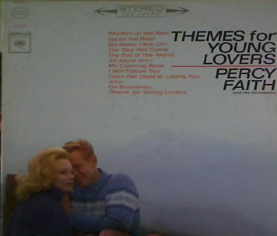 Percy Faith & His Orchestra Themes For Young Lovers LP