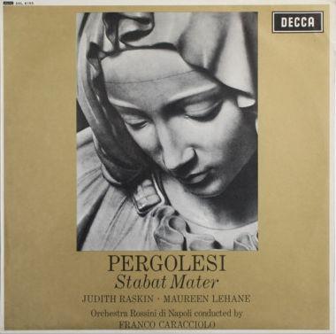 Judith Raskin  Maureen Lehane  Orchestra Rossini d Stabat Mater 3LP