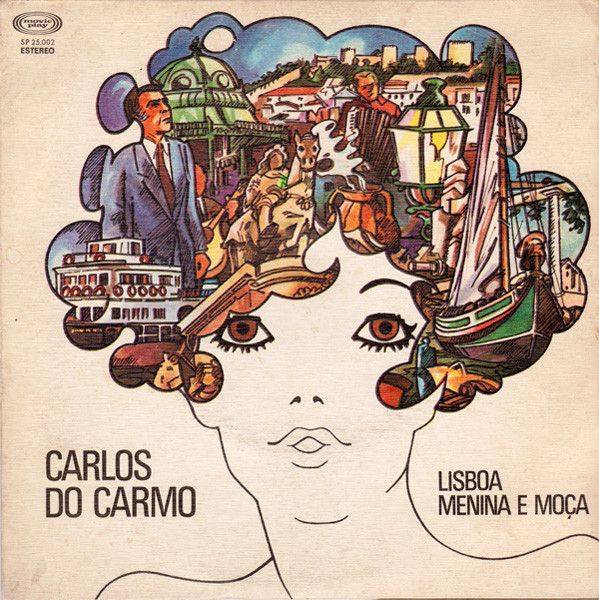 Carlos Do Carmo Lisboa Menina E Moca