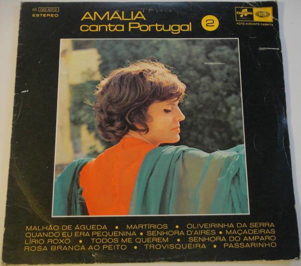 Amalia Rodrigues Amalia Canta Portugal LP