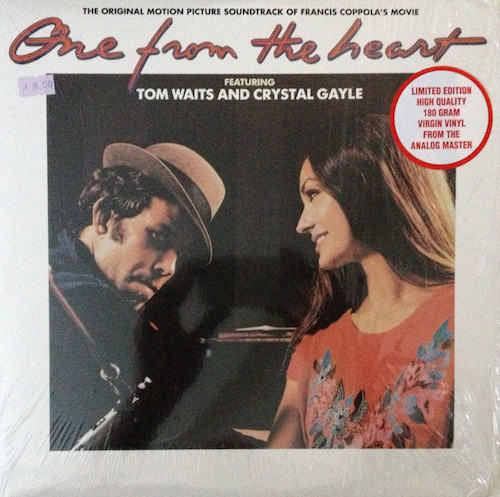 Tom Waits And Crystal Gayle One From The Heart - The Original Motion Picture S