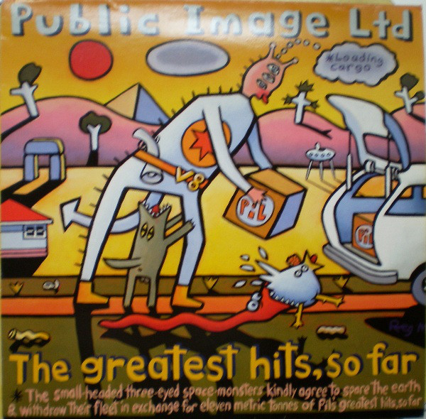 PUBLIC IMAGE LIMITED - The Greatest Hits  So Far 2LP - 33T x 2