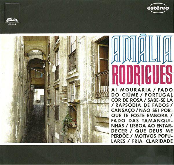Amalia Rodrigues Ai Mouraria LP