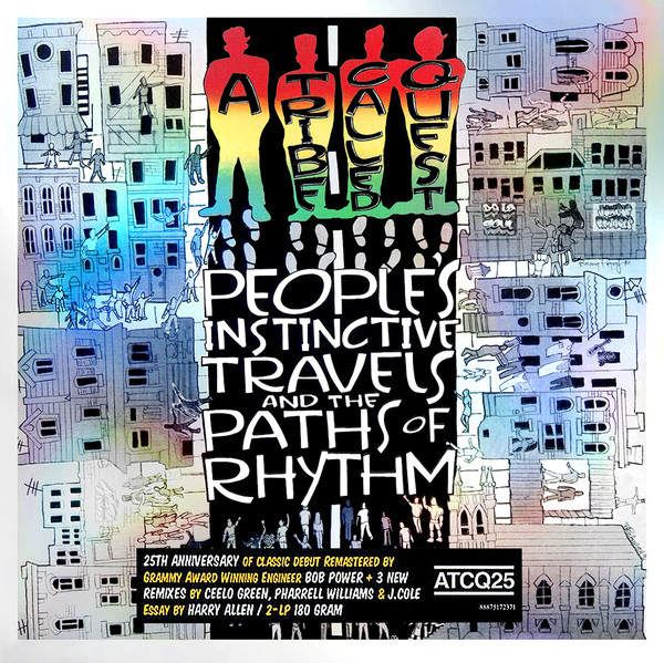 A TRIBE CALLED QUEST - People's Instinctive Travels And The Paths Of Rhyt - 33T