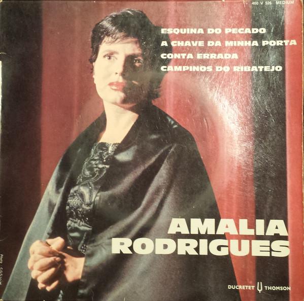 AMáLIA RODRIGUES - Esquina Do Pecado 7'' - 45T x 1