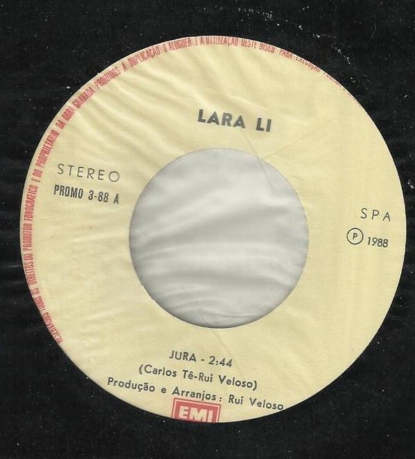 LARA LI - Jura/Quarto Crescente 7'' - 45T x 1