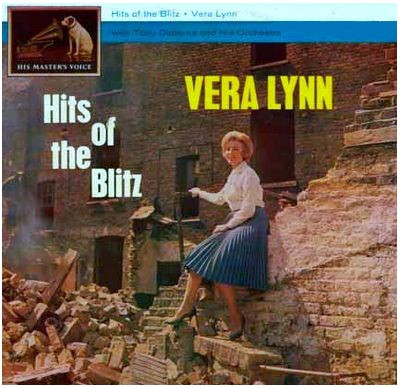 Vera Lynn With Tony Osborne And His Orchestra - Hits Of The Blitz LP - 33T