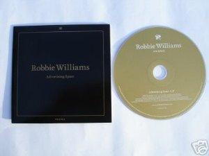 Robbie Williams Advertising Space Rare Euro Promo CD