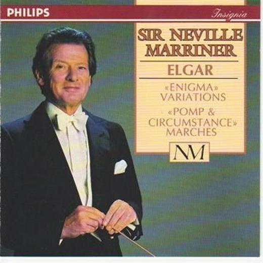 Sir Edward Elgar Sir Neville Marriner Elgar CD