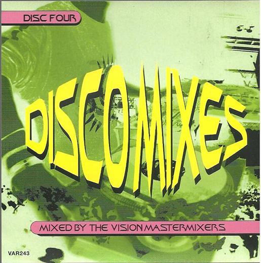 Vision Mastermixers Disco Mixes Vol.4 CD