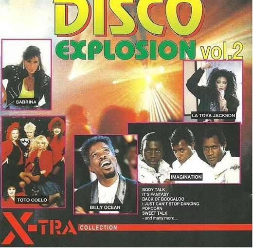 Various Artists Disco Explosion Volume 2 CD