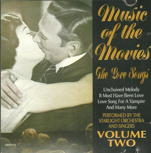 Various Artists Music Of The Movies - The Love Songs Cd 2 CD