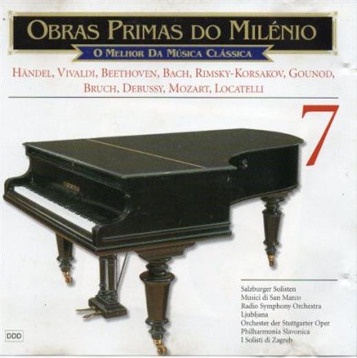 Various Artists Obras Primas Do Milenio 7 CD